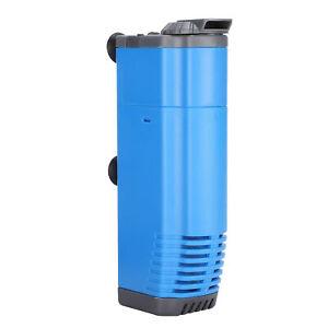Aquarium Filter Pump Submersible Fish Tank Filtration Pump EU Plug 220V NEW
