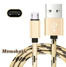 Braided 0.5M-3M Micro USB Charging Data Sync Cable For Cubot Max