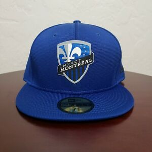 Montreal Impact New Era 59FIFTY Fitted Hat Size 7 3/8 MLS NWT Cap