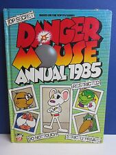 old vintage DANGER MOUSE CARTOON ANNUAL BOOK 1985 hardback retro A66