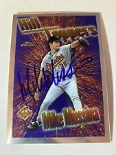 Mike Mussina Signed Autographed 1997 Topps Chrome Hill Topper Yankees Os MLB HOF