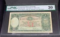 PMG Graded Commonwealth Of Australia P26a R29 Nd VF30