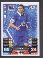 Match Attax 2013/14 - # 95 Antolin Alacaraz - Everton - Variation / Error Card