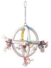 Parrot Toy Pet Bird Rope Toy Swing Orbiter Perch