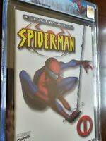 Ultimate Spider-Man #1 White CGC 9.6 Limited Edition Spider-Man Label
