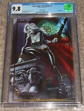 Coffin Comics Lady Death Chaos Rules 1 CGC 9.8 J Scott Campbell Gold Foil Cover