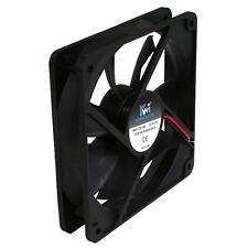 BRAND NEW KingWin 120 x 120 mm Long Life Bearing Case Fan CF-012LB Black