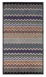 "MISSONI Home 'Rufus (165)' Zig-Zag Stripe Designer Hand Towel 27"" x 16"" **NEW**"