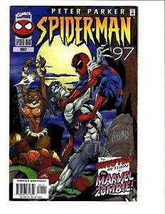 PETER PARKER SPIDER-MAN ANNUAL '97 1ST PRINT MARVEL RETURN ZOMBIE 10.0 GEM MINT