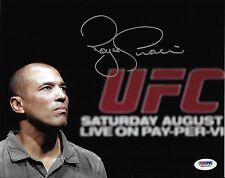 Royce Gracie Signed 8x10 Photo PSA/DNA COA UFC 1 2 3 4 5 60 Pride FC Jiu-Jitsu 1