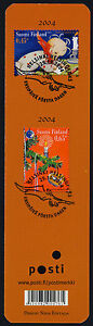 Finland 1222-3 on Bookmark - Christmas, Child, Candle