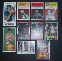 👌 Rookie Card Lot ✔ Michael Jordan Bill Russell Jerry West Larry Bird Kareem 😊