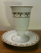 Vintage Gerold Porzellan China 3 Cups & Saucers - Made In W. German