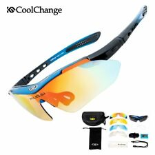 CoolChange Professional Polarized Cycling Glasses Bike Goggles Outdoor Sports