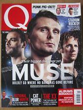 Q October 2012 Muse John Lydon The XX Blur Cat Power Joe Strummer Maccabees