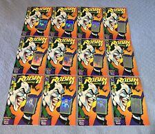 Robin II #1 (NM- 1991) comic book multiple copies x12 *hologram cover*
