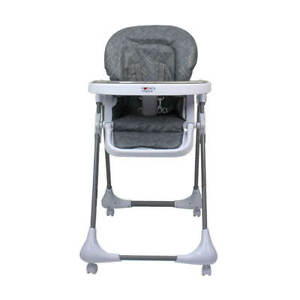 Mother's Choice Munch Highchair (Hi-Lo, removable tray and lockable wheels) -...