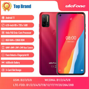 Ulefone Note 11P Unlocked Mobile Phone 4G Android 11 128GB 6.55 inch Smartphone