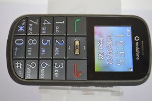 Vodafone 155 Alcatel V155 Gun Grey Big Button Senior Phone