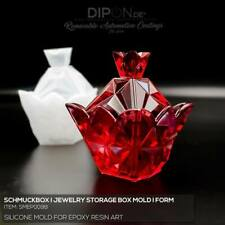 Epoxidharz Silikonform SCHMUCKBOX JEWELRY STORAGE BOX Gießform Epoxy Resin Mold