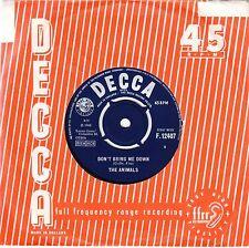 "The Animals - Don't Bring Me Down b/w Cheating UK 7"" Decca F12407, Eric Burdon"