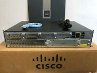 CISCO 2911-SEC/K9 3-Port Gigabit SECURITY ROUTER 2911/K9 LATEST VERSION ios-15.7