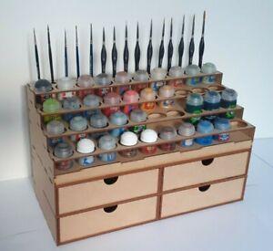 Support Peinture Citadel 40 Pots 16 Pinceaux Tiroirs Paint Stand Citadel Paints
