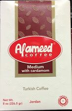 2 Boxes: Alameed coffee. (medium or dark) 8oz kopi kafa kava SHIPs PRIORITY