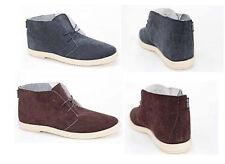 Faux Suede Desert Boots Lace Up Shoes for Men