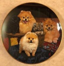 """Michele Amatrula Limited Edition """"Family Portrait""""  Collector Plate # A790"""