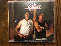 PLAYER - TOO MANY REASONS CD 14 TRACKS ROCK & POP NEW SEALED AOR FRONTIERS