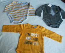 NWOT Petit Lem 3-Piece Baby One-pc Set, 3M & 6M (Months), Fits 0-3M (0-3 Months)