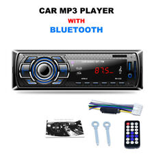 Universal Car MP3/BLUETOOTH/FM Player LED Screen Auto Radio Tuner Plug-in Card