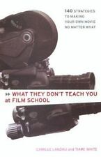 WHAT THEY DON'T TEACH YOU AT FILM SCHOOL: 161 STRATEGIES FOR MAKING YOUR OWN MOV