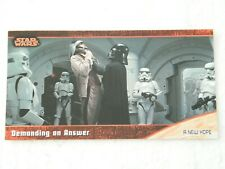 #3  A New Hope Star Wars Trilogy Topps Widevision Tradingcard (Not a sticker)