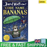 Code Name Bananas by David Walliams Hardcover Children's Book Hilarious Epic New