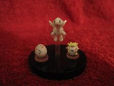 3 Mini-Pokemon Figure/Zukan:Togepi,Togetic,Togepi-Ei/ca. 0,7-1,2cm/gebraucht/F45