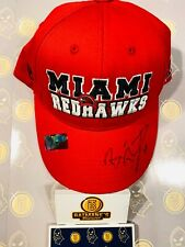 Ben Roethlisberger Signed Autographed Redhawks Rookie NFL Draft Steelers Hat