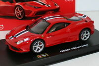 Burago 1/43 Scale Diecast Model 18-36901 - Ferrari 458 Speciale