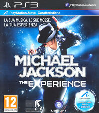 Michael Jackson The Experience Ps3 Playstation 3 IT IMPORT UBISOFT