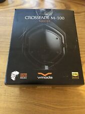 V-MODA Crossfade M-100 Master Over-Ear Headphone Model M-100MA-MB