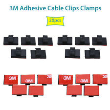 3M Self-Adhesive sticky pad Base Cable Clamps Car Wire Tie fr Car Wire Tie Mount