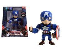 Marvel Captain America Metals Die Cast Figure M45 Avengers
