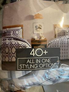 Fairfield Square Erin QUEEN Comforter Set  Bedding 12 PCsReversible NWT
