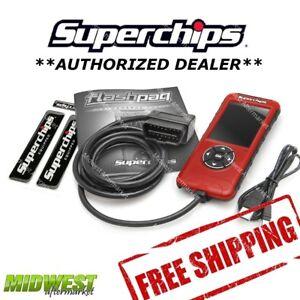 Superchips Flashpaq F5 Performance Programmer 2001-2004 Chevy Corvette 5.7L ZO6