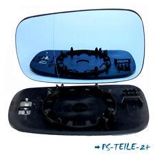 Spiegelglas für RENAULT LAGUNA II 2001-2007 links asphärisch blau  fahrerseite
