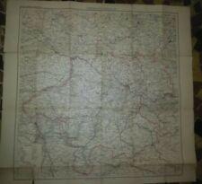 alte Landkarte Oberösterreich 1. Hälfte 20. Jhd. Verlag Freytag Wien (A1524)