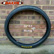 2PCS MAXXIS 26*2.1 Flimsy/Not Folding Tires 65PSI MTB Bike Clincher Wheel Tyres