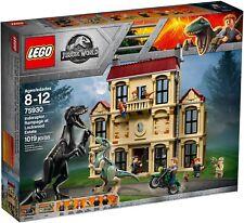 LEGO JURASSIC WORLD 75930 Indoraptor Rampage @ Lockwood Estate BNIB!