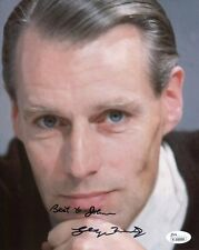 GEORGE MARTIN HAND SIGNED 8x10 COLOR PHOTO   RARE   THE BEATLES   TO JOHN    JSA
